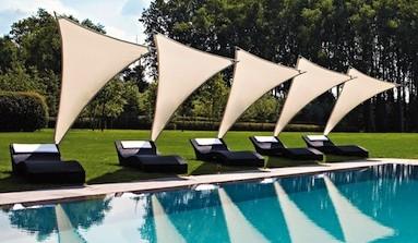 Rimbou Venus : le parasol design et flexible à voile