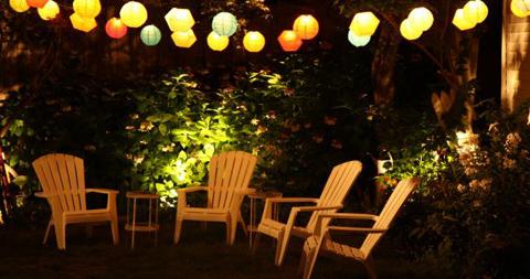 Lampions et Luminaires en extérieur | Terrasse tendance 2012
