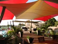 Structure de voiles d'ombrage | Terrasse tendance 2012
