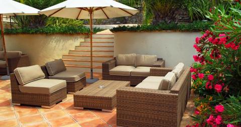 Mobilier pour salon de terrasse | Terrasse tendance 2012