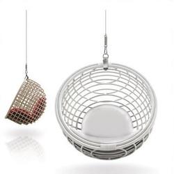 Nacelle Sphère en Rotin